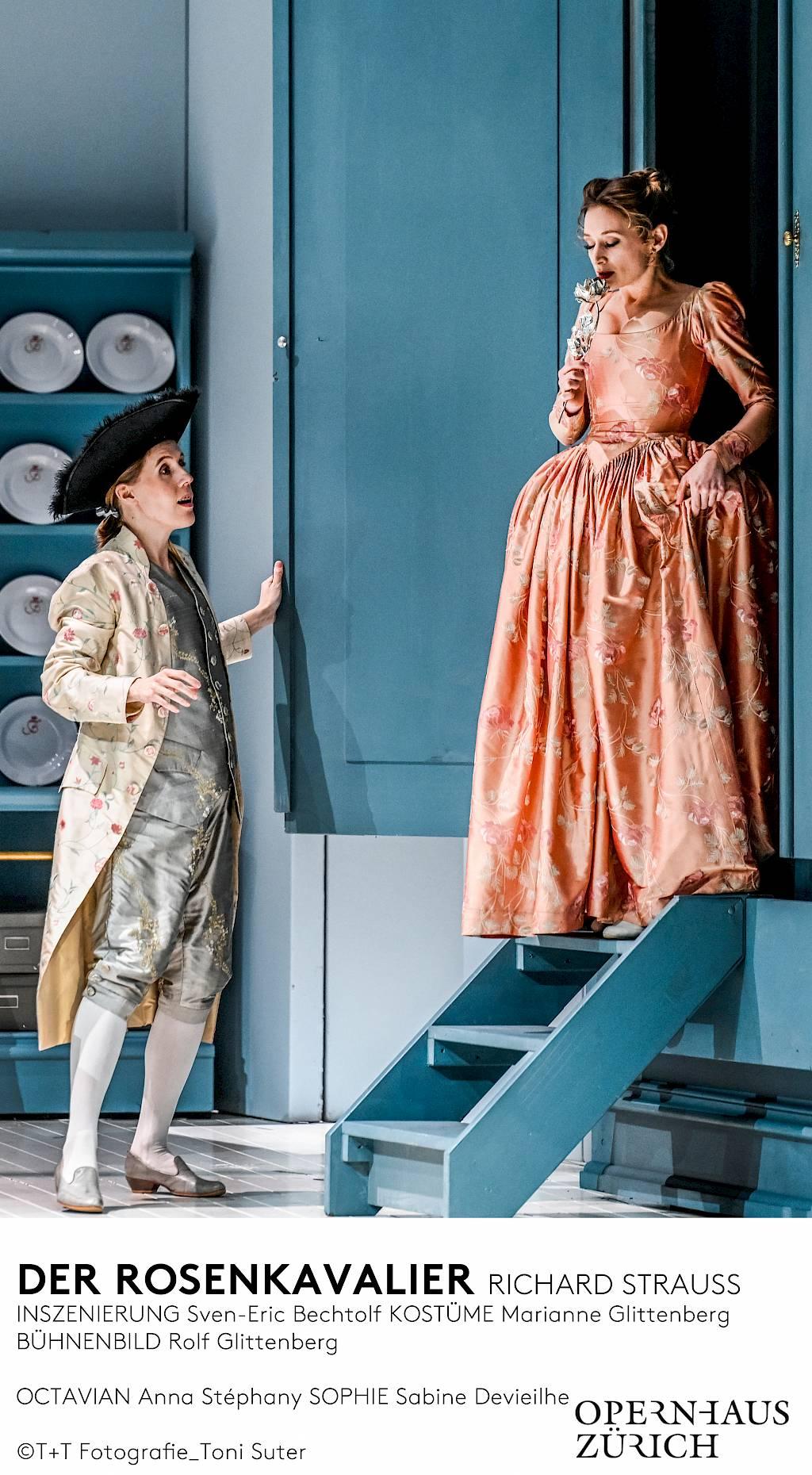 Opéra de Zurich Le Chevalier à la Rose